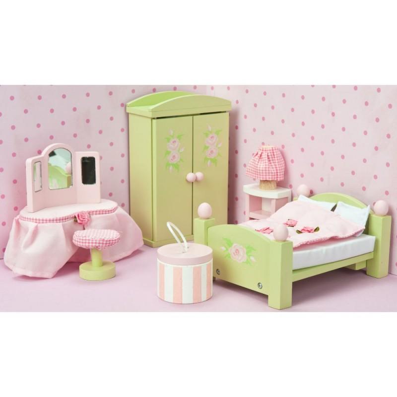 Sypialnia Daisylane do domków dla lalek, Le Toy Van