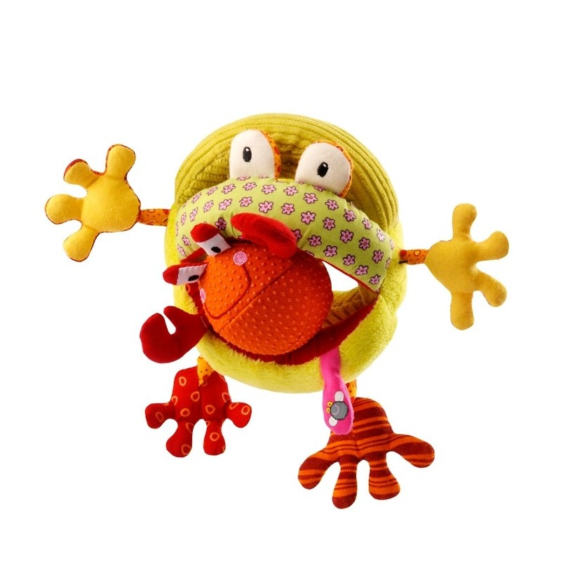 Lilliputiens Romeo Głodna Żaba edukacyjna zabawka
