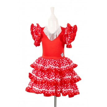 Marisol 5-7 lat strój do flamenco, Souza For Kids
