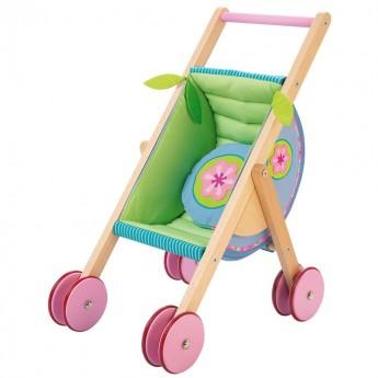 Wózek dla lalek drewniany, Haba