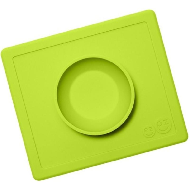 Happy Bowl zielona silikonowa miseczka 2w1, EZPZ