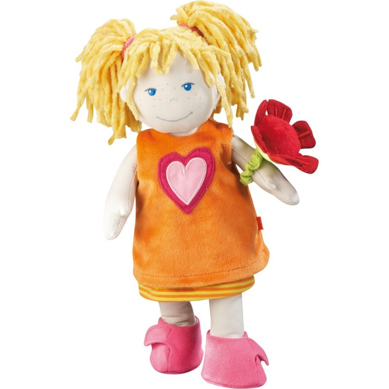 Haba lalka szmaciana Nelly 30cm dla dziewczynki od 18mc