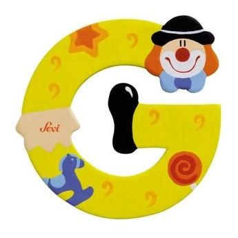 """Litera """"G"""" z klaunem"""