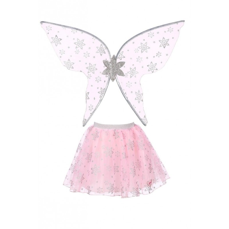 Strój wróżki Jolette 3-5 lat komplet spódniczka i skrzydła, Souza!