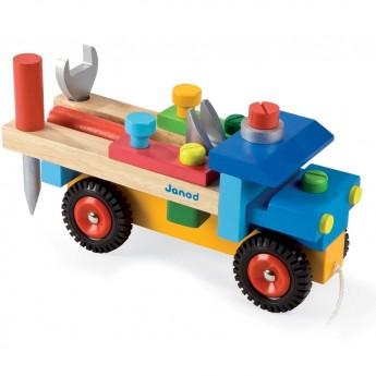 Samochód z narzędziami, Janod