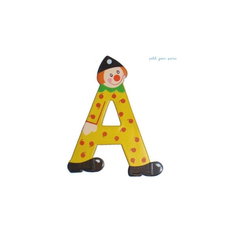 """Litera """"A"""" z klaunem"""