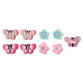Spinki Tita kwiatki i motylki 8szt, Souza For Kids