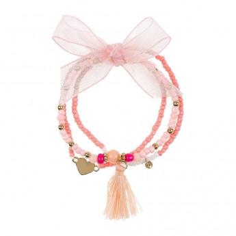 Amelie bransoletka dla dzieci różowa, Souza For Kids