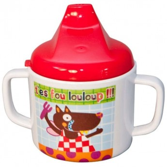 Kubek dla niemowlaka Szalony Wilk, Ebulobo