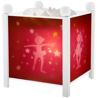 Magiczny lampion Baletnica biały dla dzieci, Trousselier