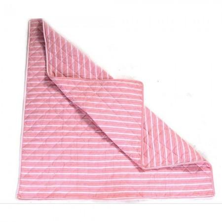 Mata do namiotu WigWam różowy w paski, WinGreen