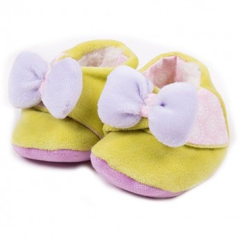 Buciki dla niemowląt Tchiki Jasny Róż, L'Oiseau Bateau