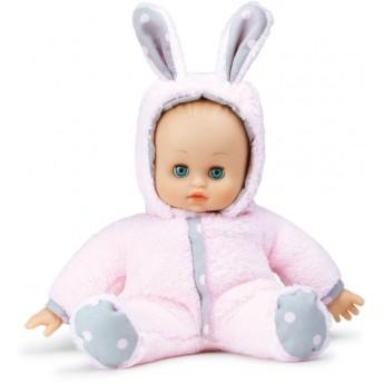 Lalka szmaciana bobas dla niemowląt +10m Króliczek, Petitcollin