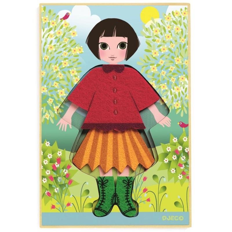 Cleo Tricot nauka ubierania się dla dziewczyn, Djeco