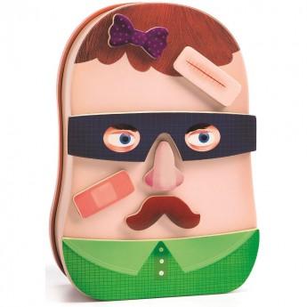 Twarze Inzebox zabawka magnetyczna, Djeco