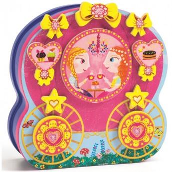 Księżniczka Inzebox zabawka magnetyczna, Djeco