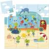 Akwarium puzzle 16 elementów, Djeco