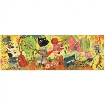 Orkiestra puzzle gallery 200 elementów, Djeco