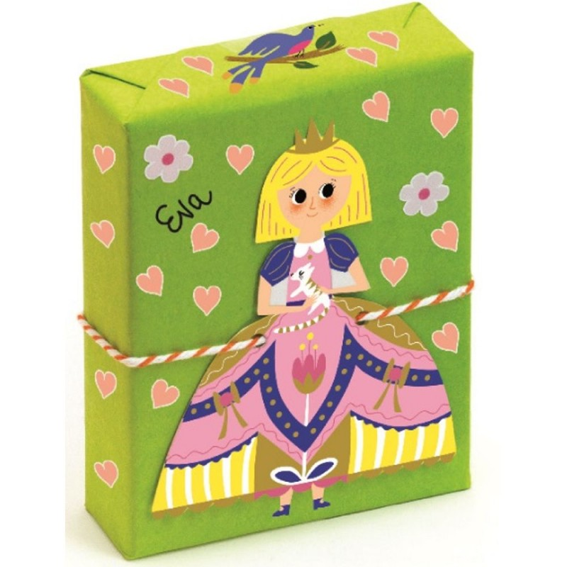 Pakowania prezentów zestaw dekoracyjny, Djeco