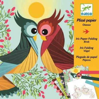 Ptaszki plisy zestaw artystyczny, Djeco