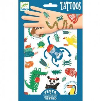 Zwierzaczki tatuaże, Djeco
