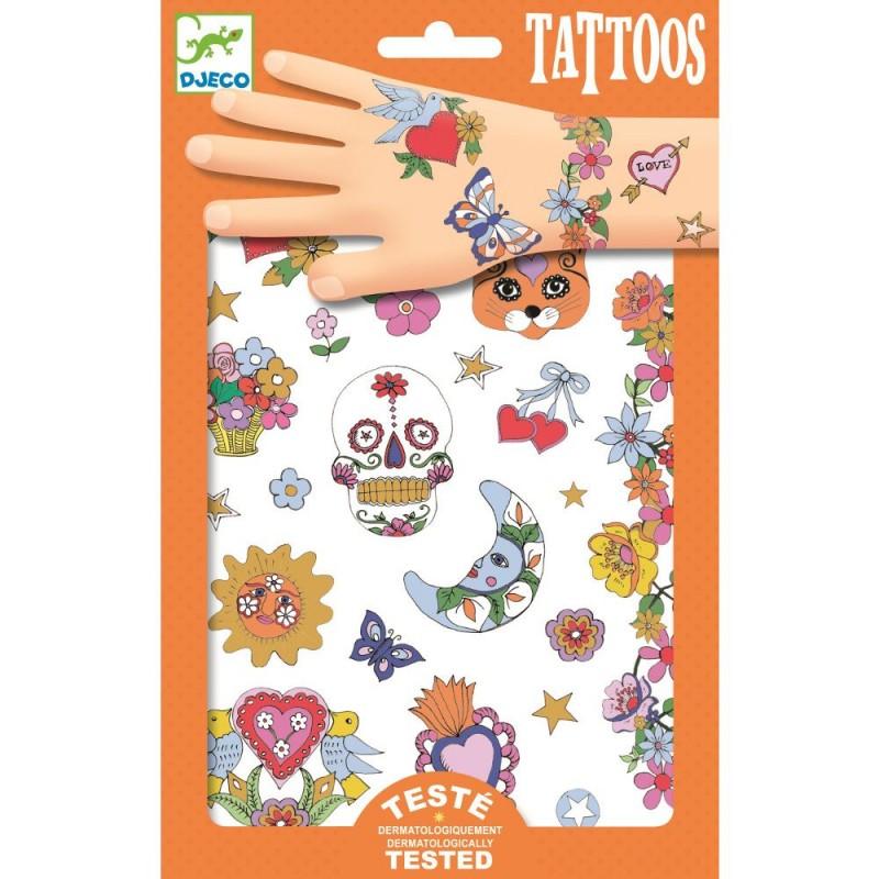 Meksykańska fiesta tatuaże, Djeco