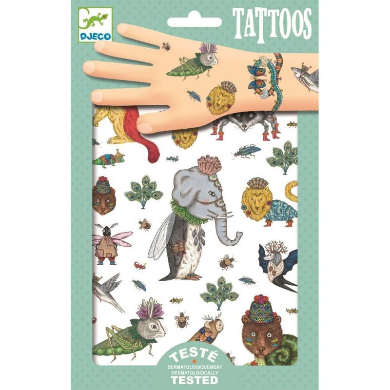 Zwierzęta tatuaże, Djeco