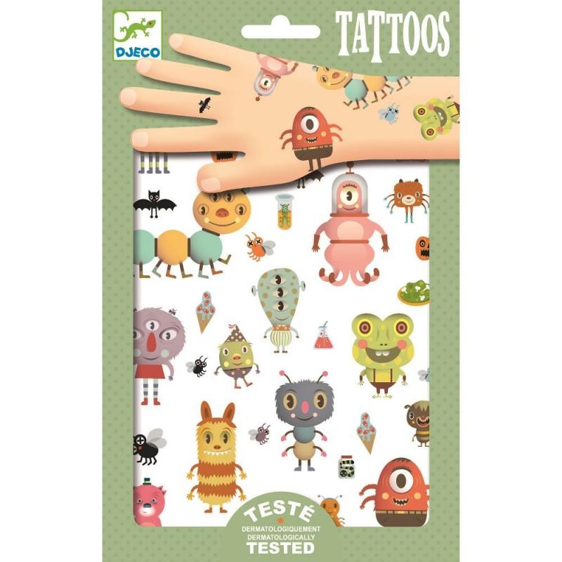 Potworki tatuaże, Djeco