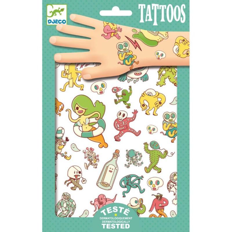 Zwariowany świat tatuaże, Djeco