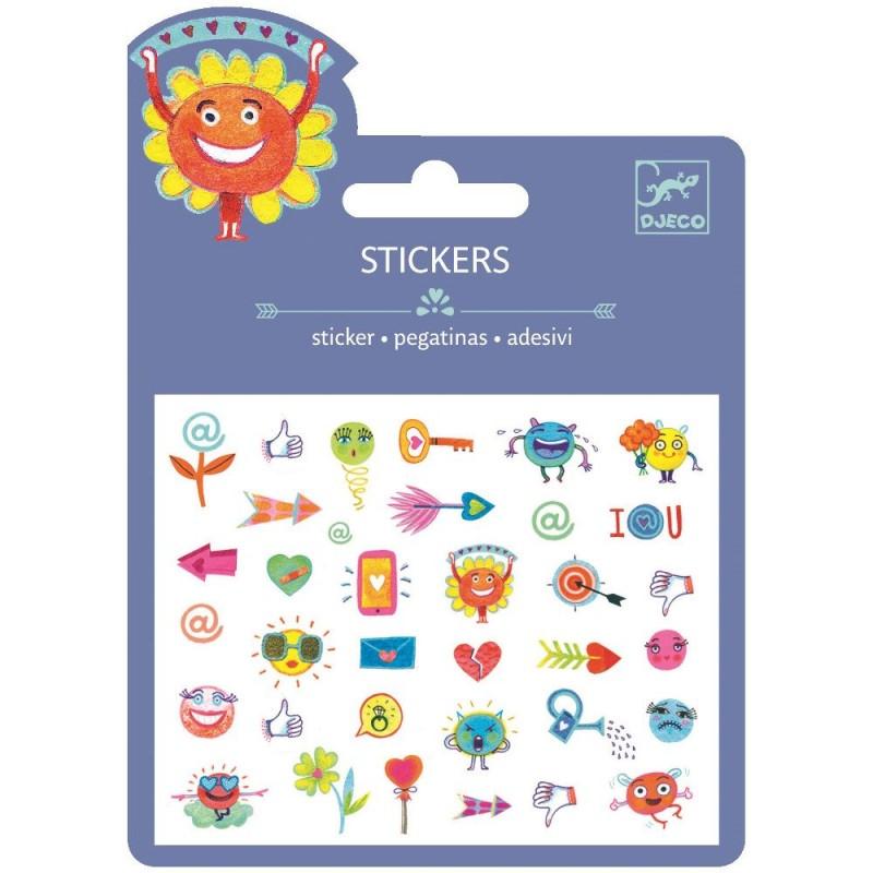 Symbole naklejki, Djeco