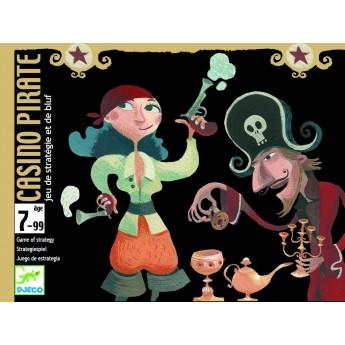 Casino Pirate gra strategiczna i gra w blefa, Djeco