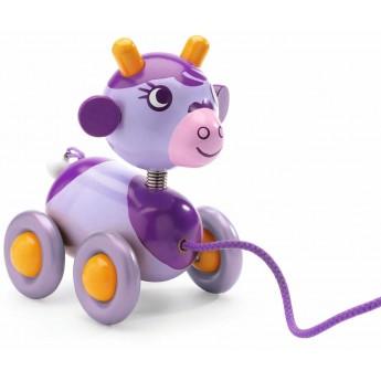 Fioletowa Krowa do ciągnięcia, Djeco