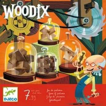 Woodix drewniane łamigłówki, Djeco