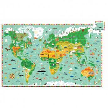 Pomniki Świata puzzle 200 elementów, Djeco