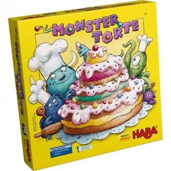 Ciasteczkowy potwór gra zręcznościowa, Haba