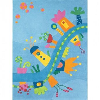 Haba dywan dla dzieci Kraina Marzeń 105x145cm wełniany