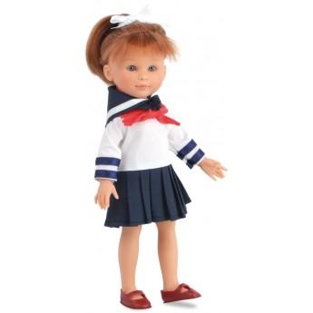 Lalka dla dzieci Justine 27cm strój Marynarza, Petitcollin