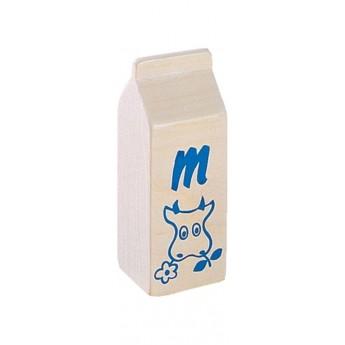 Haba Mleko drewniane, zabawka w sklep i gotowanie