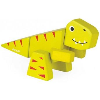 Tyranosaurus drewniany do złożenia, Janod