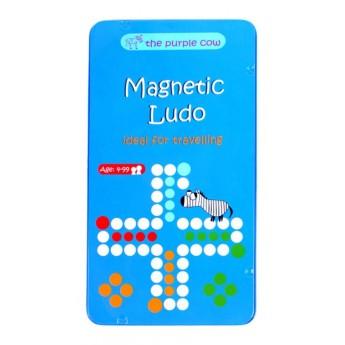 Chińczyk i Ludo 2w1 gra magnetyczna +4, The Purple Cow