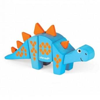 Stegosaurus drewniany do złożenia, Janod