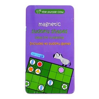 Sudoku Kształty gra magnetyczna +5, The Purple Cow