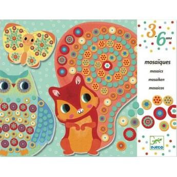 Djeco Mozaika piankowa dla dzieci 1000 Kwiatów Millefiori