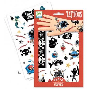 Piraci tatuaże, Djeco