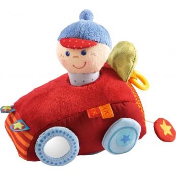 Miękka wyścigówka z napędem dla niemowląt, Haba