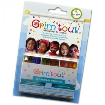 Kredki do malowania twarzy dzieciom, Grim'tout