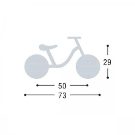 Rowerek biegowy LR M niebieki Piłka Nożna 2+, Puky