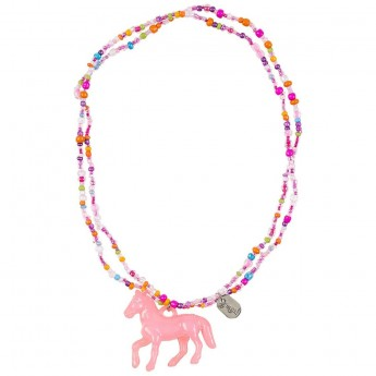 Naszyjnik Coriane różowy elastyczny, Souza for Kids