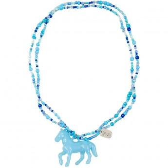Naszyjnik Coriane niebieski elastyczny, Souza for Kids