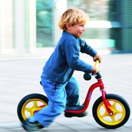 Rowerek biegowy LR M fioletowy, Puky